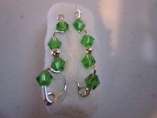 Pair Sterling Silver Filled  Ear Vines, Sweeps, Pins Earrings #73014-253