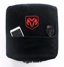 Black Armrest Console Cover Pad for Dodge Ram 2004-18 KADRAMB04-18
