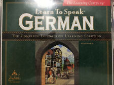 Learn To Speak German With 4 Cd Pack Cd's In Great Condition