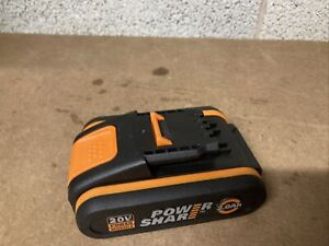 Worx 20v Battery WA3551 2.0Ah Works Charges Fully, Good Condition