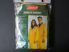 Coleman Unisex Rainflex Rainsuit Size M/L Yellow 25MM Pvc NEW