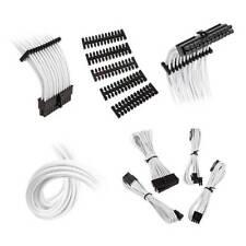 Bitfenix Alchemy 2.0 Extension Cable Kit - Black/ White (BFX-ALC-EXTKW-RP)
