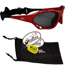 SeaSpecs Classic Sunfire Specs Red Water Sport Polarized Kitesurfing Sunglasses