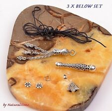 3 SET Tasbih Material Islamic Prayer beads Misbaha Rosary Tasbeeh Tasbih Masbaha
