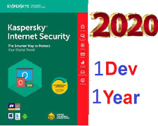 Antivirus KASPERSKY Internet Security 2020   1 Device 1 Year⚡️  Pc Worlwide  ⚡️