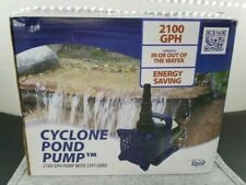 CYCLONE POND PUMP 2100 GPH PUMP WITH 33FT CORD