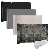 Balkonbespannung PVC Sichtschutz Balkonverkleidung Balkon Zaun Sonnenschutz