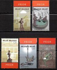 Belgium**Fountains&Monuments-5vals-Quick&Flupke-Cartoon character TINTIN Magazin