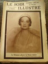 Le Soir Illustré - La Belgique pleure la Reine Astrid - Numéro Spécial - 08/1935