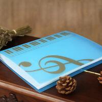 80 Sheets Music Book Folders Piano Insert-type Music Supplies File Storag S