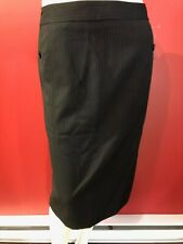 RAFAELLA Women's Black Pinstripe Lined Skirt - Size 6 - NWT $65