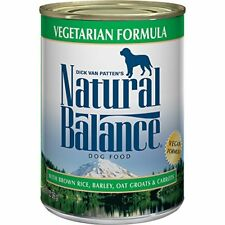 Natural Balance Canned Dog Food Vegetarian Recipe 12 pk of 13 ounce cans