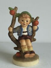 "New ListingVintage Goebel M I Hummel Figurine Apple Tree Boy Tmk6 4 1/4"" Tall Model 142 3/0"