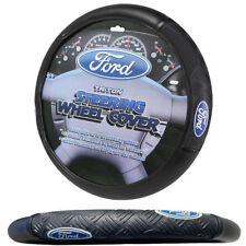 New Triton Style Car Truck Suv Synthetic Leather Steering Wheel Cover for Ford