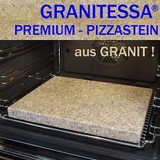 GRANITESSA PIZZASTEIN - aus GRANIT ! ( 36 x 30 x 3 cm ) -- auch zum BROTBACKEN