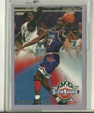 "1993/94 Fleer Basketball Michael Jordan ""A Day In The Life"" All-Star Insert Card"