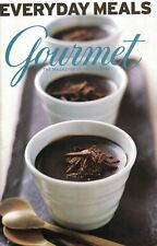 Gourmet Magazine EVERYDAY MEALS Cookbook 2005 Magazine Supplement