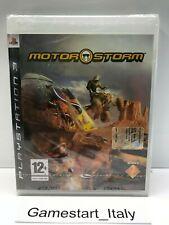 MOTORSTORM - SONY PS3 - GIOCO NUOVO SIGILLATO PAL - NEW SEALED