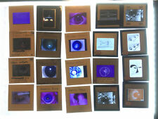 Vtg Lot of 62 Lesson 1 Teaching Photo Slides Eye Doctor Medical Lot E28