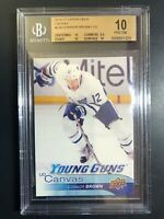 2016-17 Upper Deck Connor Brown Young Guns Canvas Rookie BGS 10