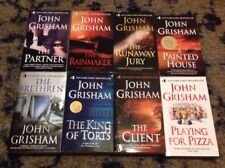 Lot of 8 New John Grisham books The Partner Rainmaker Client Brethren and more