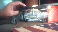 Harrow Lacrosse Field Hockey Eye Mask Cage Goggles Soft Black Silver Unisex