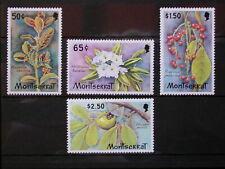 MONTSERRAT '1982 * MH 482/485 YT 6,00 EUR FLORA,FLORE,FLEURS,FLOWERS,FRUITS