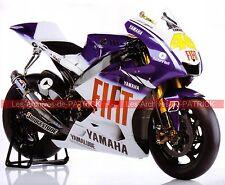 YAMAHA YZR-M1 800 ( YZR M1 Valentino ROSSI ) 2008 Fiche Moto 000150