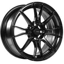 15x8 Advanti Racing Storm S2 4x100 +25 Matte Black Wheels (Set of 4)