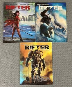 Palladium: The Rifter Guide to the Megaverse RPG Lot