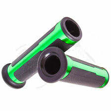 "Green CNC Omega Hand Grip 7/8"" Universal Grippy Handle Bar 22mm Left Right"
