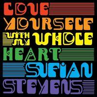 SUFJAN STEVENS - LOVE YOURSELF/WITH MY WHOLE HEART   VINYL LP SINGLE NEU