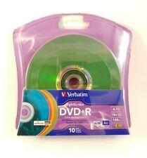 Verbatim 16x DVD+R LightScribe Assorted Color Blank Media, 4.7GB/120min - 96941