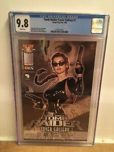 CGC 9.8  Tomb Raider Cover Gallery  Adam Hughes Michael Turner