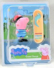 PEPPA PIG Cruisin George with Skateboard Figure Set *NEW*