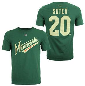 Reebok NHL Youth (8-20) Minnesota Wild Ryan Suter #20 Short Sleeve T-Shirt