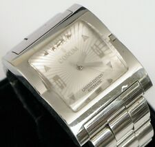 CORUM SEVERUS SQUARE BUBBLE STAINLESS STEEL MEN'S WATCH 082.800.20 AUTOMATIC !