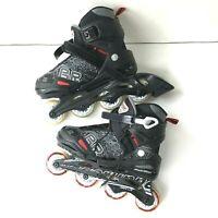 Rollerblade Bladerunner Phoenix Boys Adjustable Inline Skate, Size 5-8 (Used)