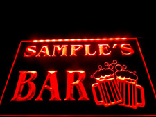 Name Personalized Custom Home Bar Led Neon Light Sign Display Decor Signboard