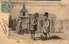 CPA Légende de Saint-Saulge, Le Cadran Solaire (421166)