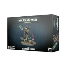 ILLUMINOR SZERAS Necrons Warhammer 40000 miniature