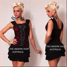 Lace Up Short Machine Washable Dresses for Women