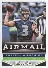 2013 Score Football #249 Russell Wilson Airmail Seahawks