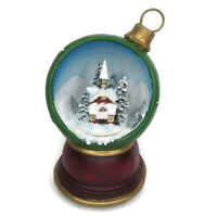 Christmas Ornament Music Box We Wish You a Merry Wind Up