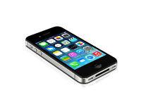 "Apple iPhone 4S - iOS 8GB 3.5"" Unlocked Smartphone 3G White/Black WIFI Original"