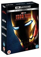 Iron Man 1-3 (4K Ultra HD + Blu-ray (Boxset)) [UHD]
