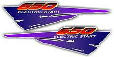 DR650 Dr 650 Airbox Stickers Decals Graphics air box dirtbike Supermoto enduro