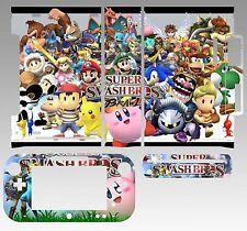 Skin Sticker for Nintendo Wii U Console & Controller 221 Super Smash Bros Brawl