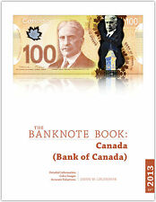 Canada chapter from new catalog of world notes, The Banknote Book