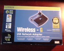 Linksys Wireless G USB Network Adapter Model WUSB54G 2.4GHz 802.11g new in box